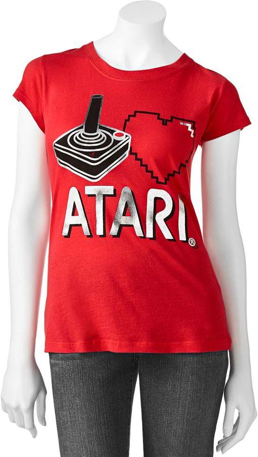 "Freeze i love atari"" foil tee - juniors"