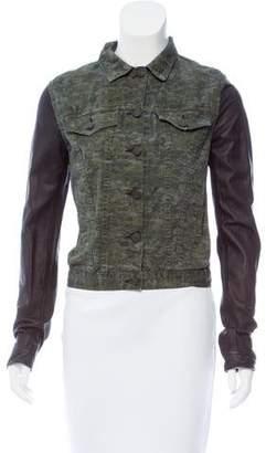 Rag & Bone Denim & Leather Jacket