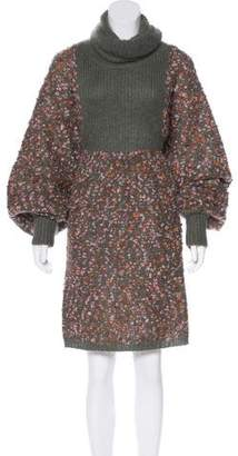 Chloé Wool-Blend Dress w/ Tags