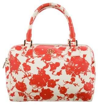 Tory Burch Coated Canvas Floral Handbag