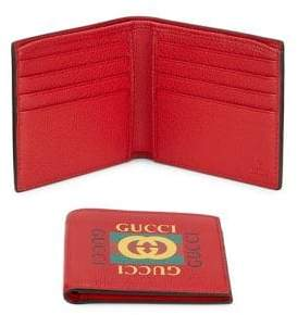 Gucci Bi-Fold Leather Wallet