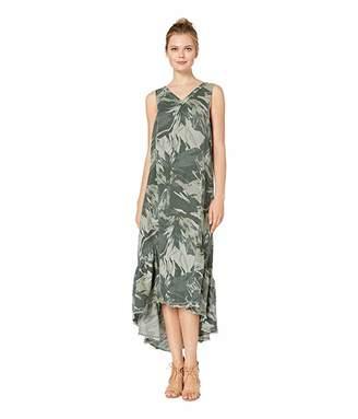 XCVI Camo Tropical Dress in Solstice Linen