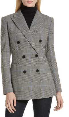 Theory Portland Plaid Power Jacket