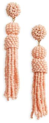 BaubleBar Mini Mariachi Beaded Tassel Earrings