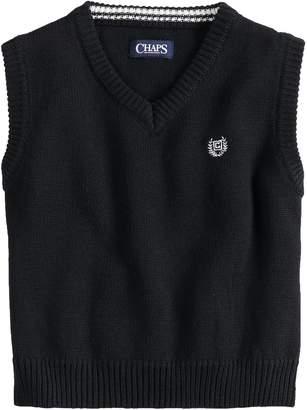 Chaps Boys 4-20 Kyle Sweater Vest