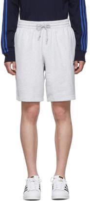 adidas Grey Logo Shorts