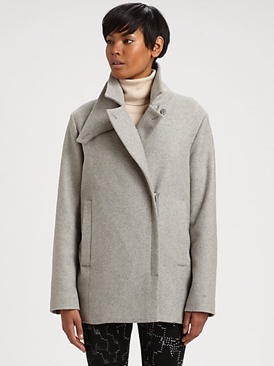 Maison Martin Margiela Stretch-Wool Peacoat