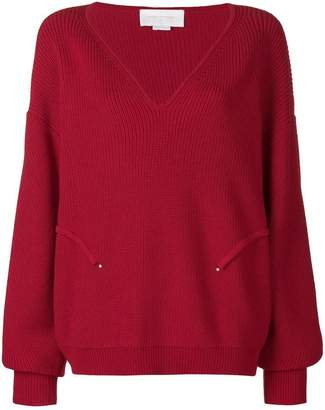 Esteban Cortazar volume v-neck jumper