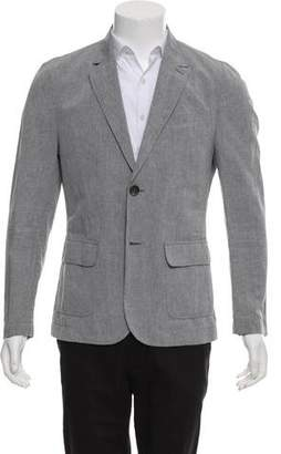 James Perse Deconstructed Linen-Blend Blazer