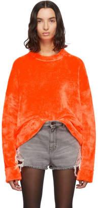 Alexander Wang Orange Chynatown Sweatshirt