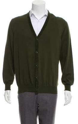 Maison Margiela V-Neck Cardigan Sweater