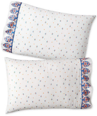 Martha Stewart Collection Whim by Collection Set of 2 Paired Pillowcases
