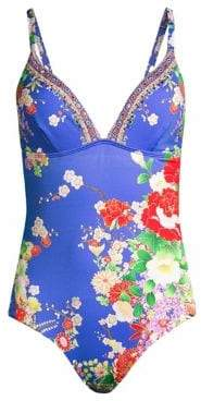 Camilla Floral One-Piece Swimsuit