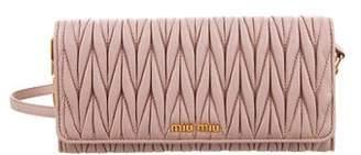 cd4cc00e6d95 Miu Miu Matelassé Nappa Wallet On Chain