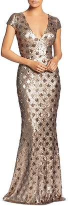 Dress the Population Lina Sequined Mermaid Dress