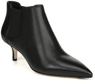 Via Spiga Maeve Leather Kitten Heel Ankle Boot