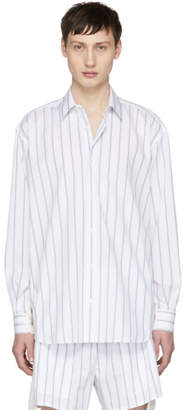 Stella McCartney White Striped Intoxication Shirt