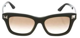 Valentino Rockstud Square Sunglasses