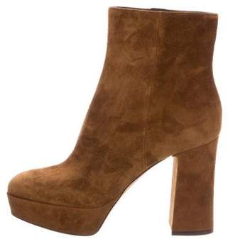 Gianvito Rossi Foley Platform Booties w/ Tags