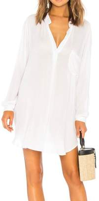 Indah White Solid Tunic