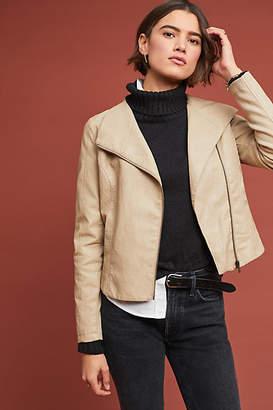 ett:twa Ripley Faux Leather Moto Jacket