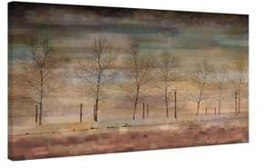 Parvez Taj The Woods Painting Print on Wrapped Canvas