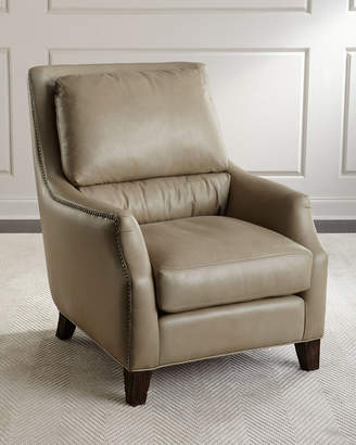 The Eleanor Rigby Leather Company Lincoln Leather Chair