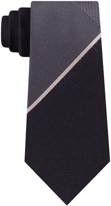 Kenneth Cole Reaction Men Slim Geometric Tie