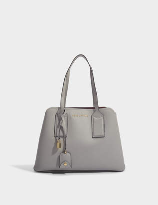 Marc Jacobs The Editor Bag in Dust Split Cow Leather with Polyurethane Coating