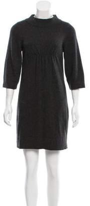 J Brand Knit Mock Neck Dress