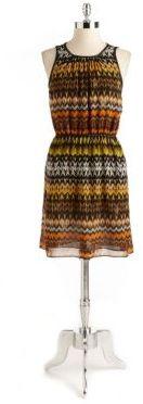 Vince Camuto Tribal Print Tank Dress