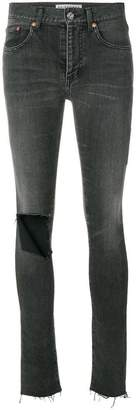 Balenciaga Busted knee skinny jeans