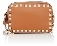 Valentino Women's Rockstud Leather Chain Pouch - Lt. brown