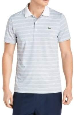 Lacoste Logo Stripe Polo