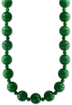 "Effy Jade (4 & 10mm) Bead 20"" Statement Necklace"