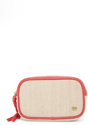 Kooba St Tropez Linen Double Zip Case $48 thestylecure.com