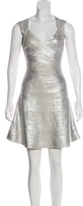 Herve Leger Breton Mini Dress