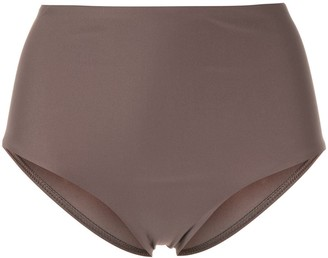 Matteau high-waisted bikini bottoms