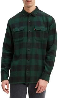 Levi's Plaid Slim-Fit Shirt