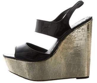 Alice + Olivia Platform Wedge Sandals