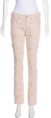 Isabel Marant Mid-Rise Jeans Pink Mid-Rise Jeans