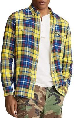 Polo Ralph Lauren Plaid Twill Western Shirt