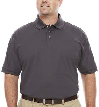 Co THE FOUNDRY SUPPLY The Foundry Big & Tall Supply Quick Dry Short Sleeve Polo Shirt