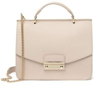 Furla Julie Small Top Handle Leather Crossbody Bag