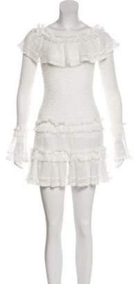 Jonathan Simkhai Crotchet Mini Dress