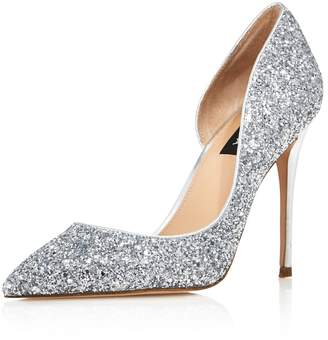Aqua Women's Dion Glitter Embellished High-Heel d'Orsay Pumps - 100% Exclusive