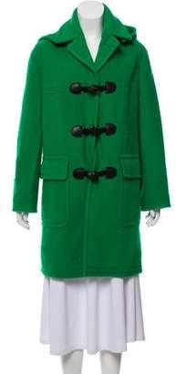 Marc Jacobs Hooded Wool Coat