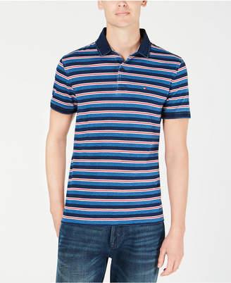 Tommy Hilfiger Men Custom Fit Bedford Striped Polo
