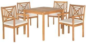 Safavieh Del Mar Indoor / Outdoor Dining Table & Chair 5-piece Set
