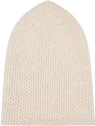 William Sharp Cashmere Crystal Embellished Hat